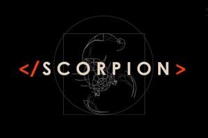 2017 Scorpion Tv Show Logo Wallpaper