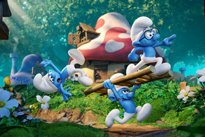 2017 Smurfs The Lost Village