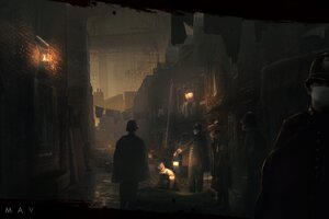 2017 Vampyr Video Game Wallpaper