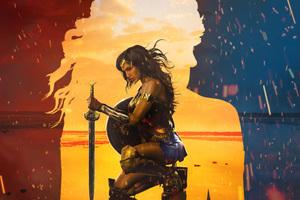 2017 Wonder Woman Artwork