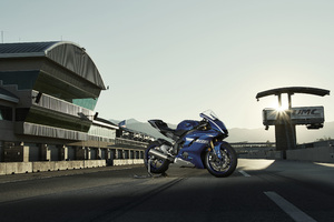 2017 Yamaha R6 4k Wallpaper