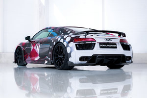 2018 Abt Audi R8 Art Color Wallpaper