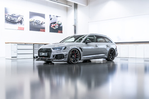 2018 ABT Audi RS 4 R Avant Side View