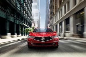 2018 Acura RLX Sport Hybrid SH AWD Front Wallpaper