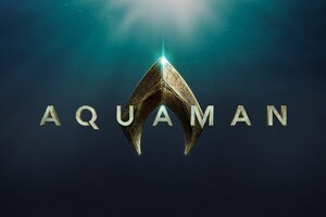 2018 Aquaman Movie Logo Wallpaper