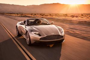 2018 Aston Martin Db11 Volante Front