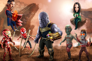 2018 Avengers Infinity War 4k