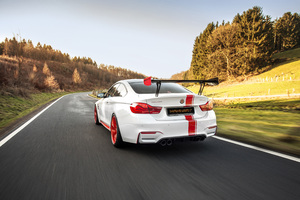2018 Bmw M4 Manhart Racing Rear