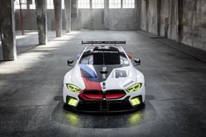 2018 BMW M8 GTE 4k