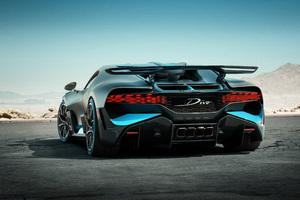 2018 Bugatti Divo Rear