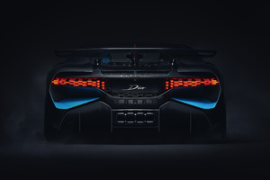 2018 Bugatti Divo Rear View
