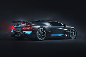 2018 Bugatti Divo Rear View Photoshoot