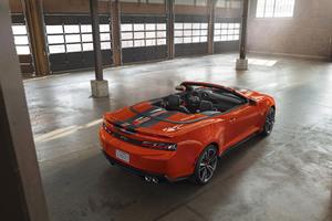 2018 Chevrolet Camaro SS Convertible Rear Hot Wheels 50th Anniversary Edition