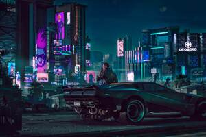 2018 Cyberpunk 2077 4k Wallpaper