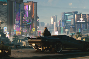 2018 Cyberpunk 2077 Car Wallpaper