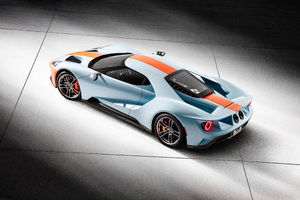 2018 Ford GT Heritage Edition 4K