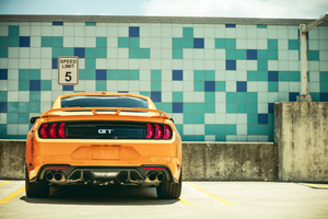 2018 Ford Mustang GT Fastback Rear