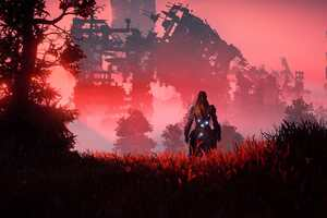 2018 Horizon Zero Dawn Video Game