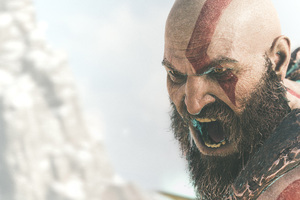 2018 Kratos God Of War 4k Wallpaper