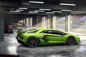 2018 Lamborghini Aventador SVJ 4k