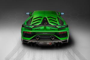 2018 Lamborghini Aventador SVJ Rear