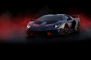 2018 Lamborghini SC18 Front Wallpaper