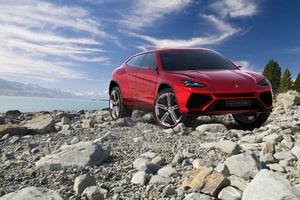 2018 Lamborghini Urus Front View
