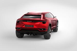 2018 Lamborghini Urus Rear View