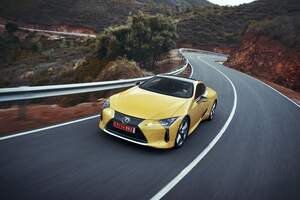 2018 Lexus LC 500 4k Wallpaper