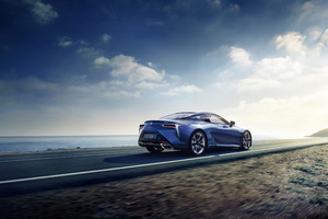 2018 Lexus LC 500h Wallpaper