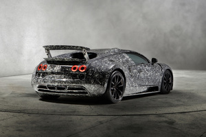 2018 Mansory Bugatti Veyron Vivere Diamond Edition Rear