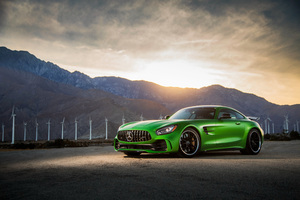 2018 Mercedes Amg Gtr Wallpaper