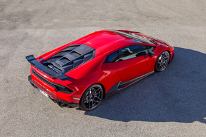 2018 Novitec Torado Lamborghini Huracan RWD Rear View