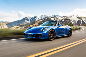 2018 Porsche 911 Carrera GTS Cabriolet