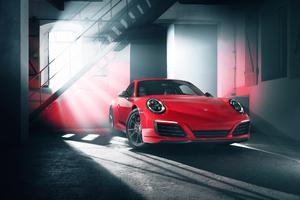 2018 Porsche 911 Carrera T Front