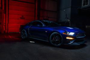 2018 Roush RS2 Blue Car Wallpaper