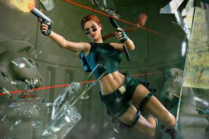 2018 Tomb Raider Art