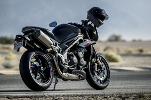 2018 Triumph Speed Triple 1050 RS Rear