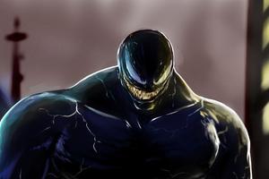2018 Venom Movie Art Wallpaper