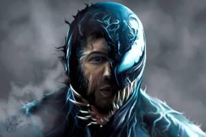 2018 Venom Movie Artwork