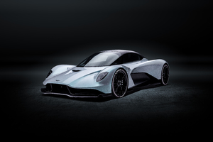 2019 Aston Martin Valhalla Front Wallpaper