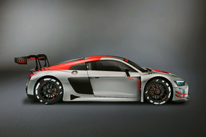 2019 Audi R8 LMS Side View Wallpaper