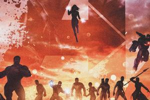 2019 Avengers Endgame 4k New