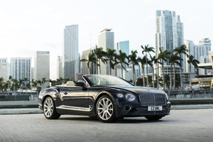 2019 Bentley Continental GT Convertible V8 Wallpaper