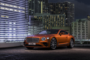 2019 Bentley Continental GT V8 Wallpaper