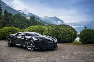 2019 Bugatti La Voiture Noire 4k