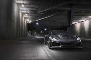 2019 Chevrolet Corvette ZR1 4k