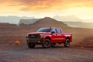 2019 Chevrolet Silverado Wallpaper