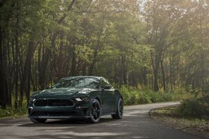 2019 Ford Mustang Bullitt Front Wallpaper