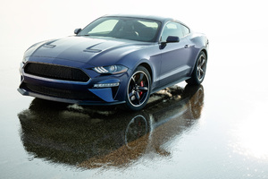 2019 Ford Mustang Bullitt Kona Blue